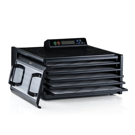 Excalibur Food Dehydrator 4548CDFB Power 400 W, Number of trays 5, Temperature control, Integrated timer, Black