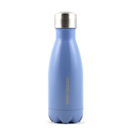 Yoko Design Isothermal Bottle  1340-7750B  Mat coat blue, Capacity 0.26 L, Diameter 6.5 cm