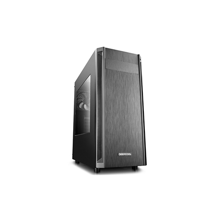 Deepcool D-Shield V2 Side window, Black, ATX, Power supply included No