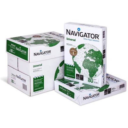 Navigator Paper 500 pages Copy and Printer paper, A4, 80 g/m², White