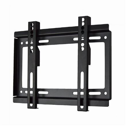 "Gembird Wall mount, WM-37F-01, 17-37 "", Fixed, 200x200 mm, Black"
