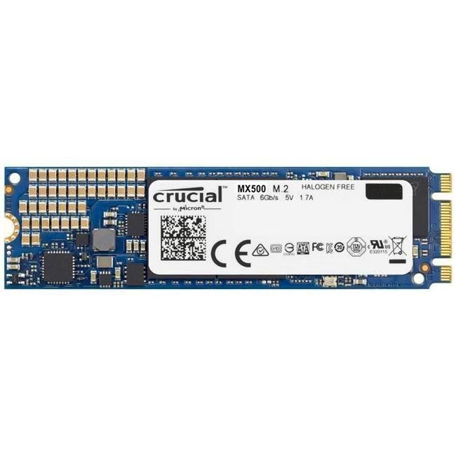 SSD|CRUCIAL|MX500|500GB|M.2|SATA 3.0|TLC|Write speed 510 MBytes/sec|Read speed 560 MBytes/sec|MTBF 1800000 hours|CT500MX500SSD4