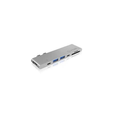 Raidsonic ICY BOX IB-DK4037-2C Dual USB Type-C notebook Docking Station