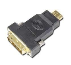 I/O ADAPTER HDMI TO DVI/BULK A-HDMI-DVI-1 GEMBIRD