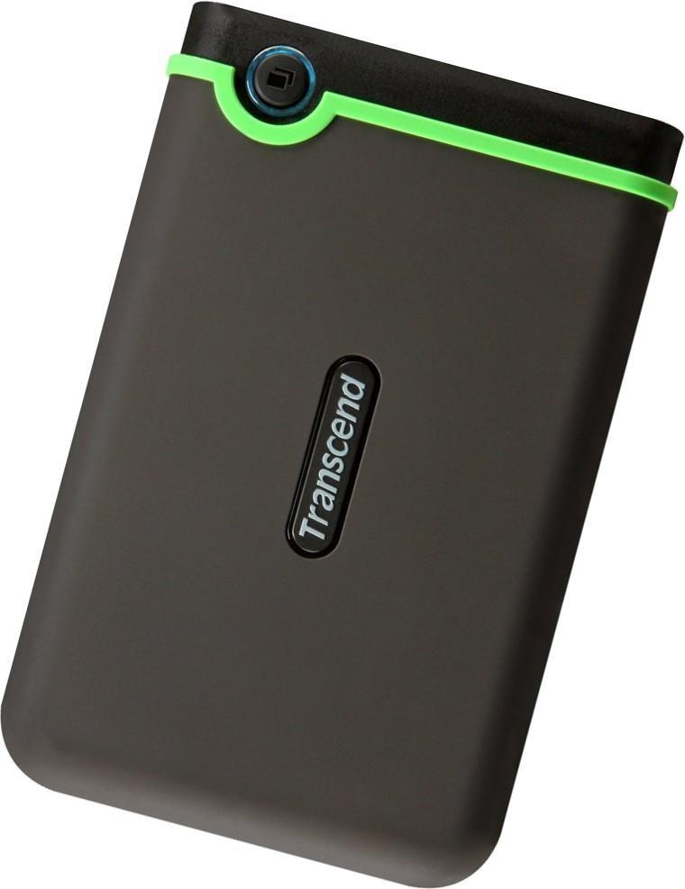 External HDD|TRANSCEND|StoreJet|1TB|USB 3.0|Colour Green|TS1TSJ25M3S