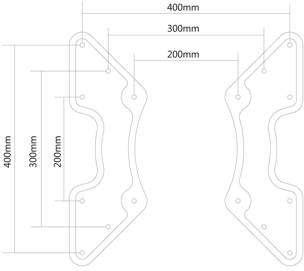 Neomounts by Newstar FPMA-VESA440 monitori kinnituse tarvik