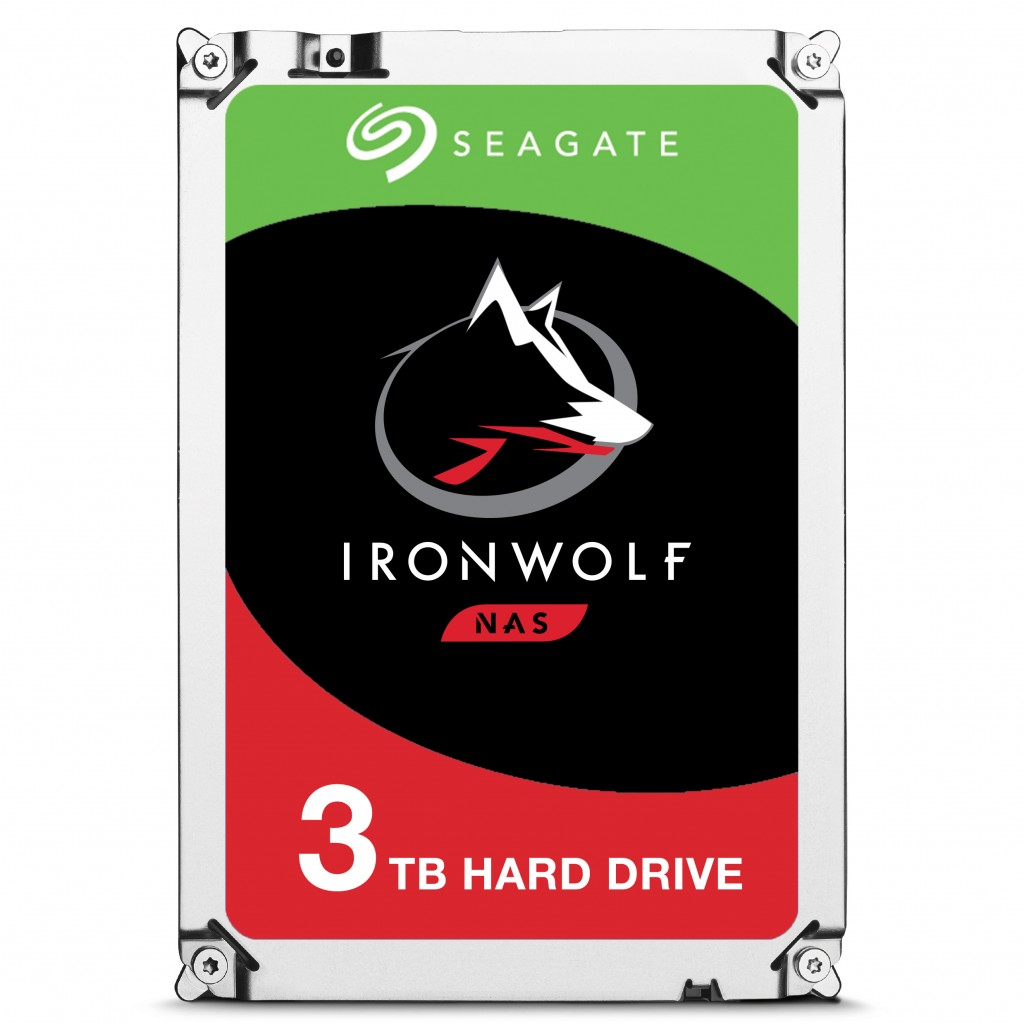 SEAGATE NAS HDD 3TB IronWolf