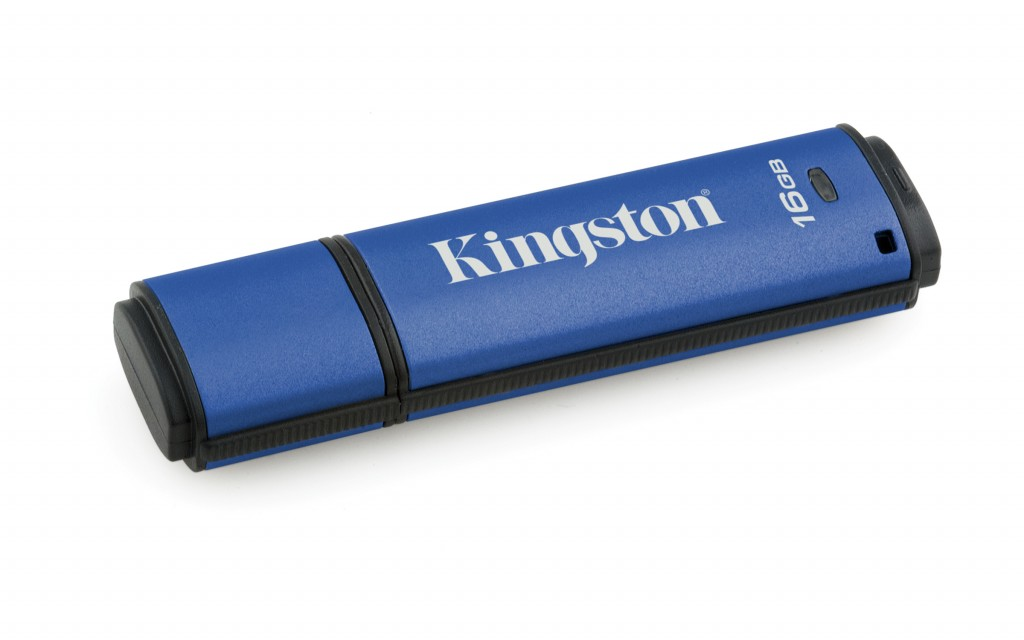 KINGSTON 16GB 256bit AES Encrypted USB3.