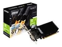 MSI GT 710 2GD3H LP HDMI DVI-D D-Sub