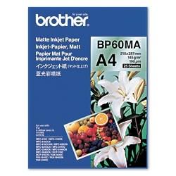 BROTHER BP60MA inkjet paper A4 matt 25sh
