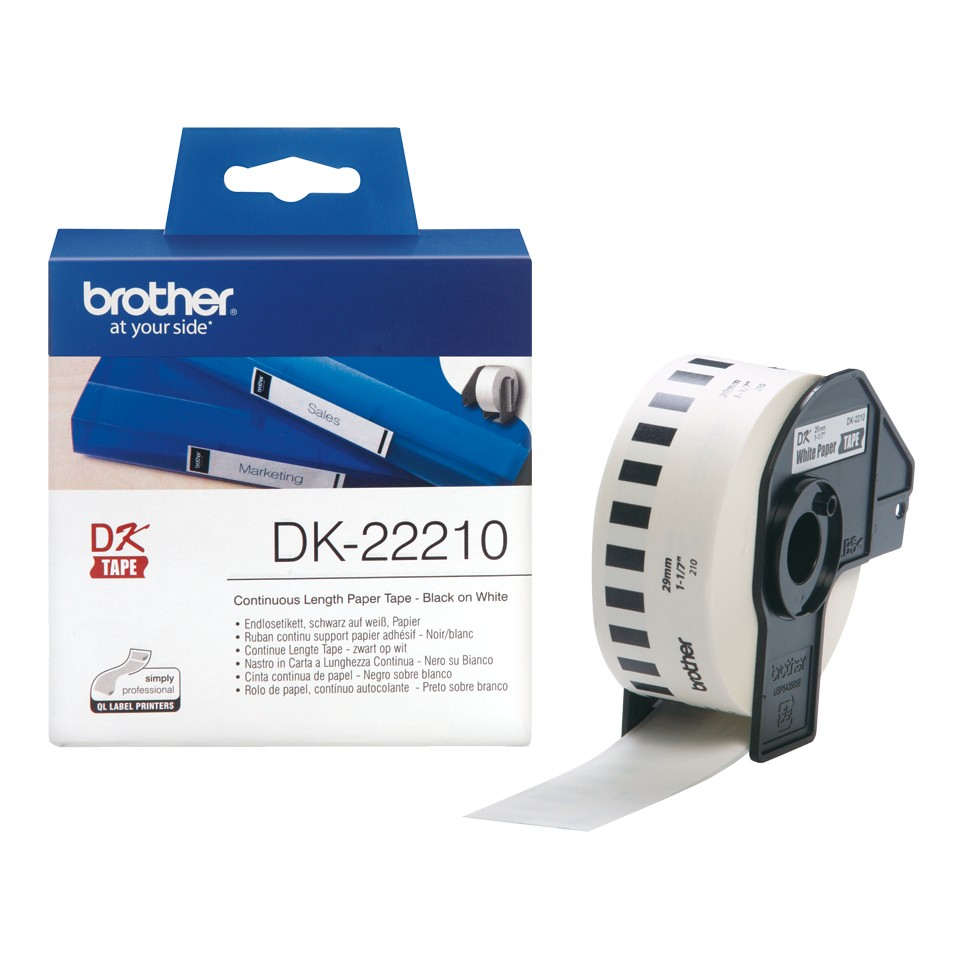 BROTHER DK22210 endless label paper