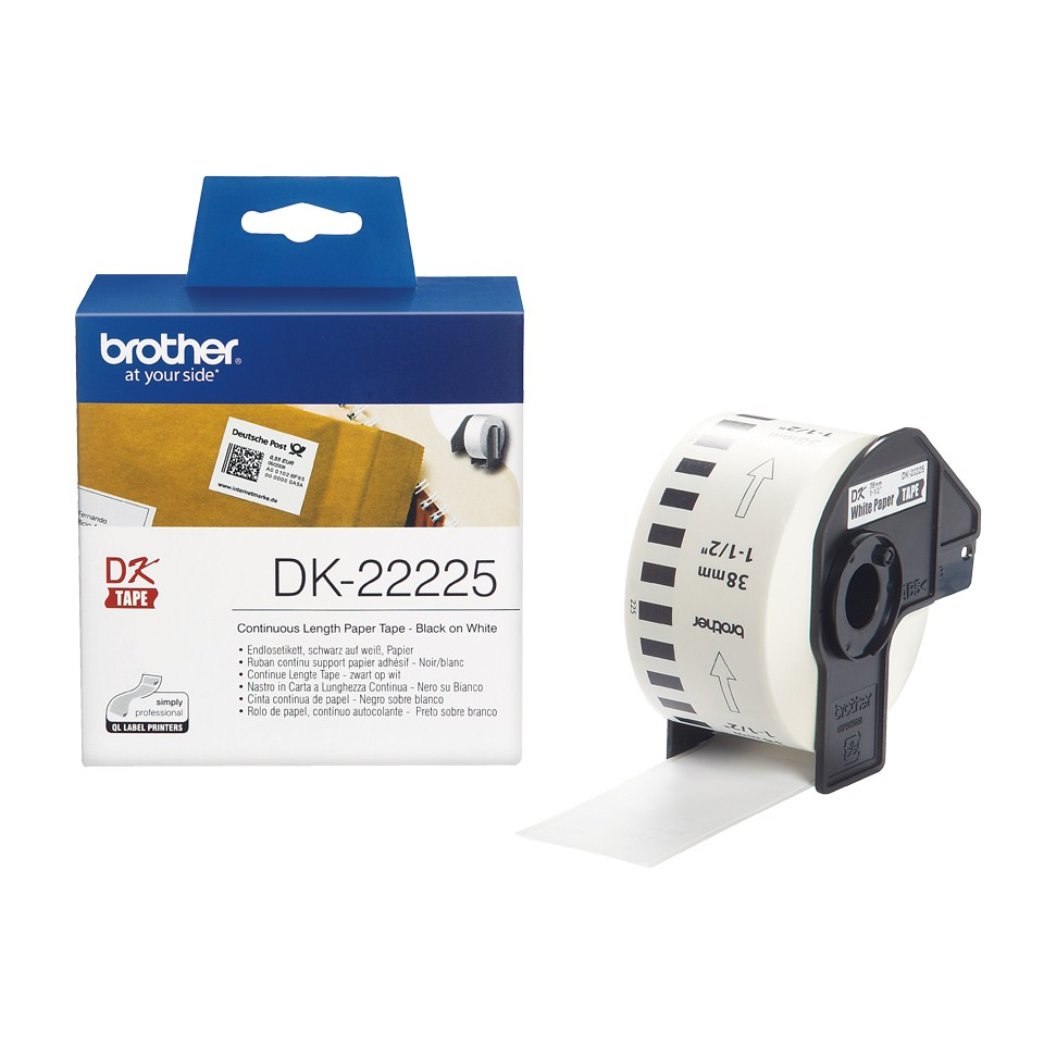 BROTHER DK22225 endless label paper