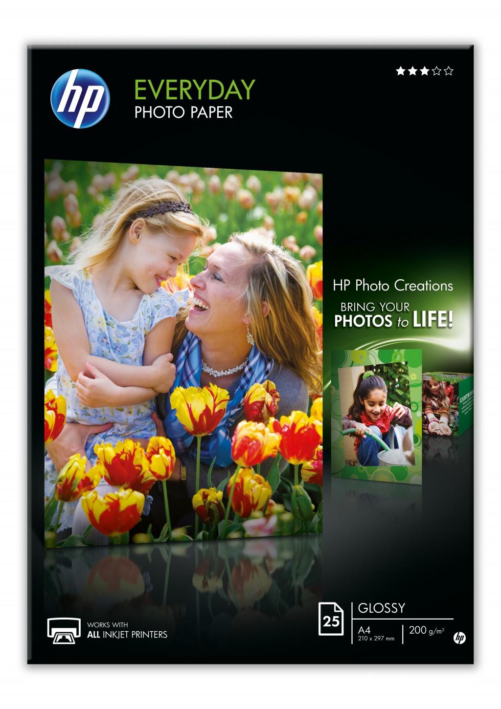 HP Everyday photopaper semigloss A4