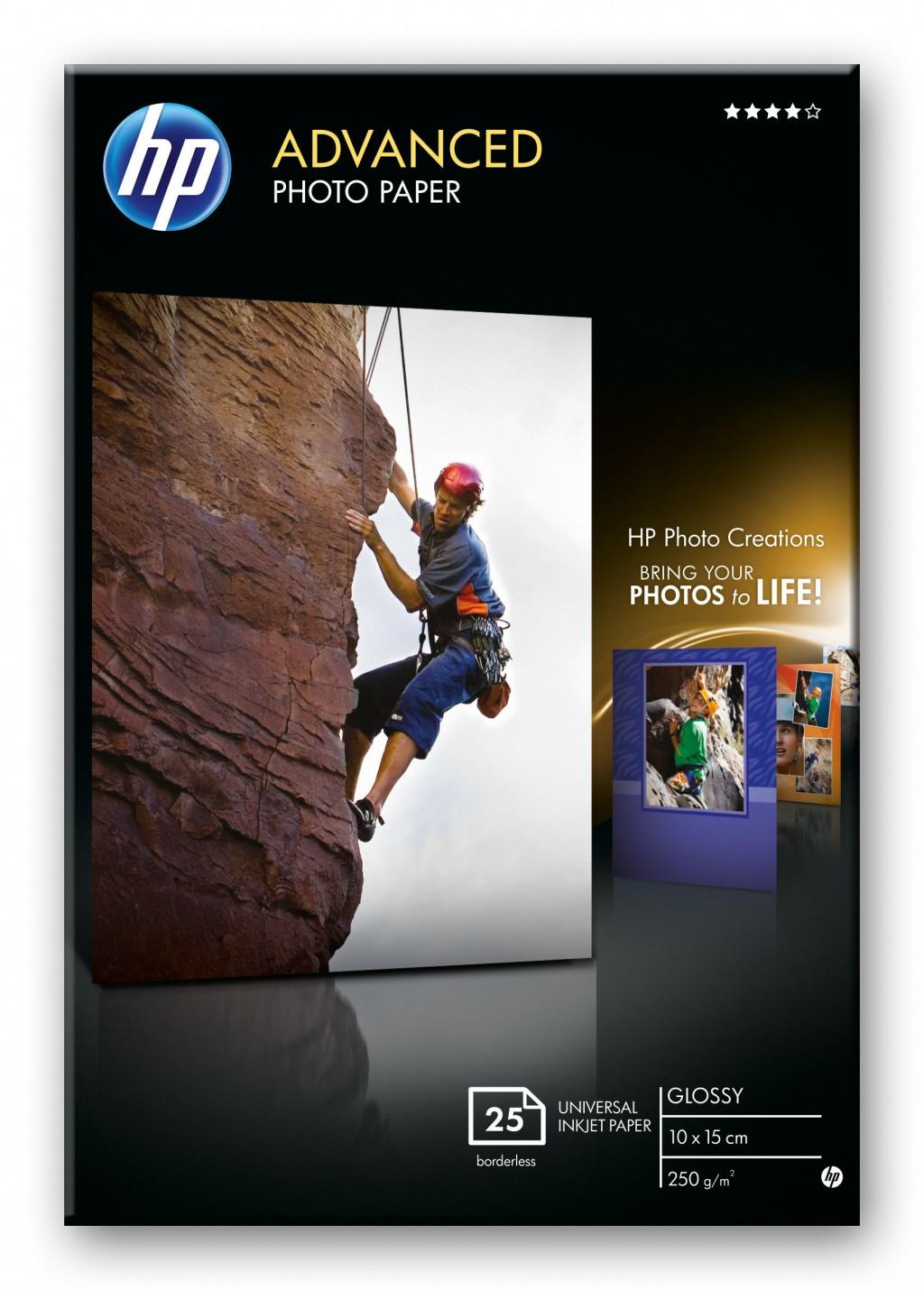HP Advanced Photo Paper glossy 25sheet