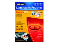FELLOWES LAMINATING POUCH A6 125MIC