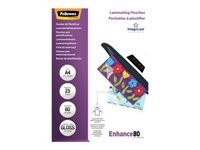FELLOWES IL LAMINATING POUCH 80MIC A4