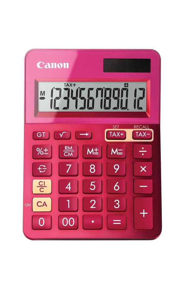 CANON LS-123K-MPK calculator Pink