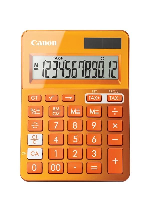 CANON LS-123K-MOR calculator Orange