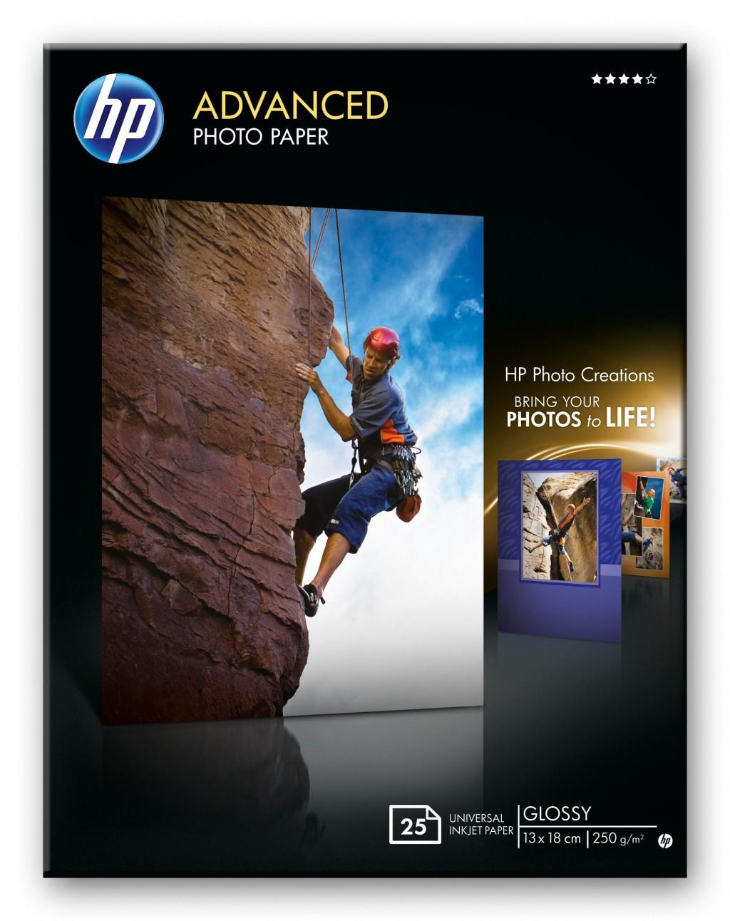 HP advanced photopaper glossy borderless