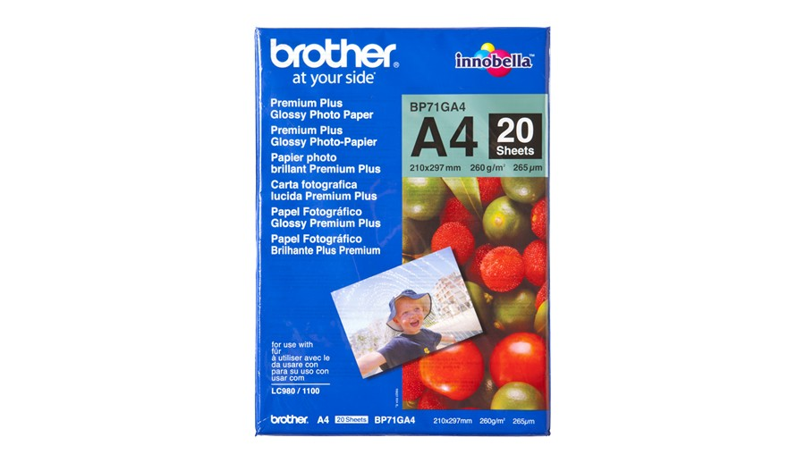 BROTHER BP71GA4 photo paper A4 20BL