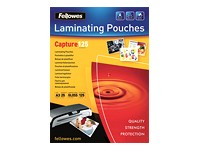 FELLOWES LAMINATING POUCH 125MIC A3 25P