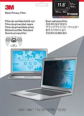 """3M PF116W9B Raamideta ekraani privaatsusfilter 29,5 cm (11.6"""")"""