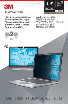 "3M PF116W9E Raamideta ekraani privaatsusfilter 29,5 cm (11.6"")"