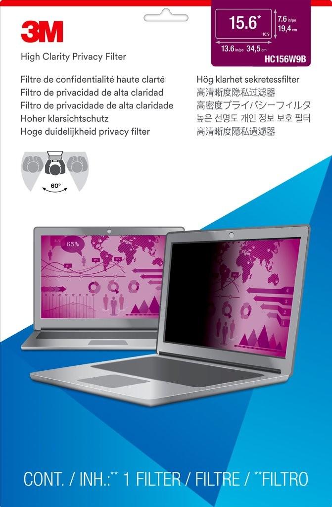 "3M 7100138483 privaatsusfilter ekraanile Raamideta ekraani privaatsusfilter 39,6 cm (15.6"")"