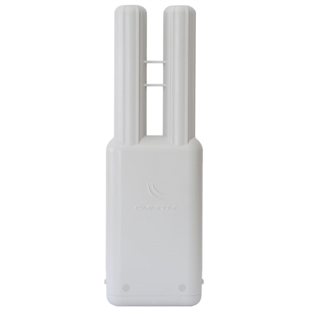 MikroTik OmniTIK 5 with 2 x 7.5dBi integrated 5GHz Omni antennas, High Gain Dual Chain 802.11an wireless, 600MHz CPU, 64MB RAM, 5x LAN USB