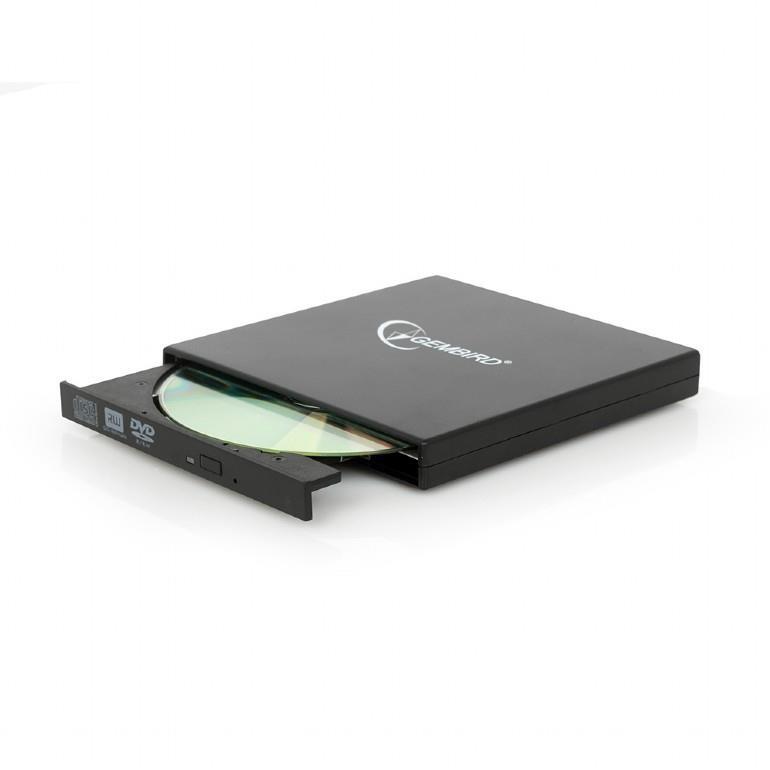 DVD RW USB2 8X EXT RTL/BLACK DVD-USB-02 GEMBIRD