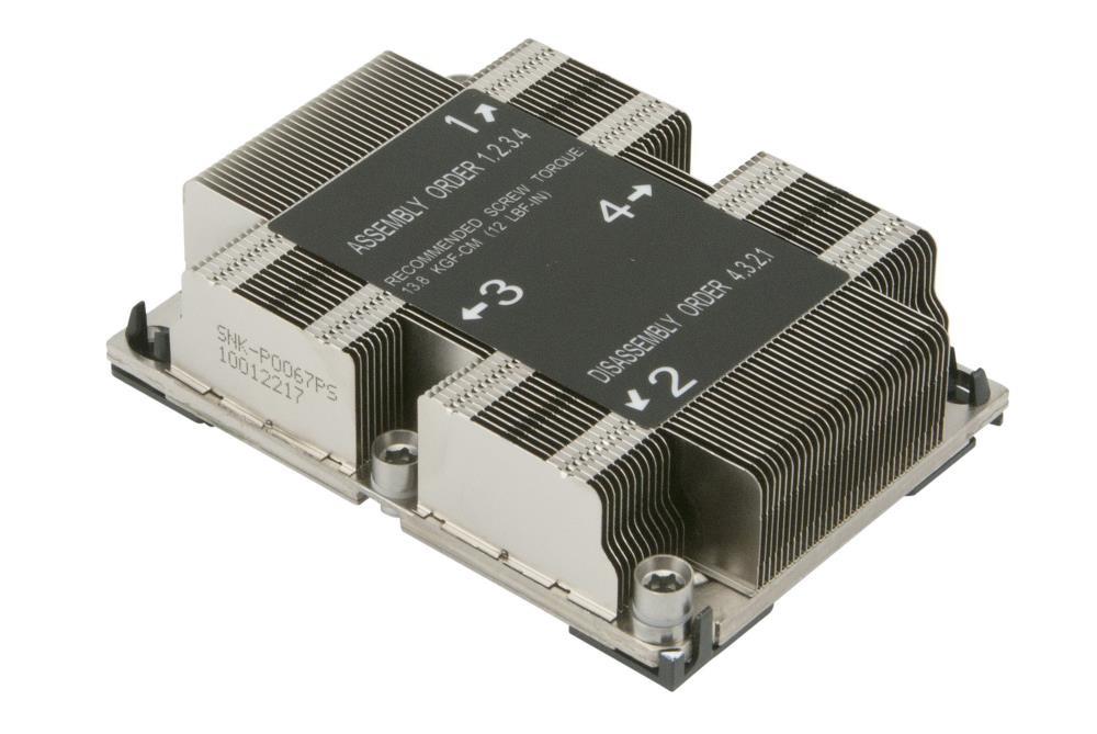 Supermicro SNK-P0067PS arvuti jahutuskomponent Protsessor Jahutusradiaator