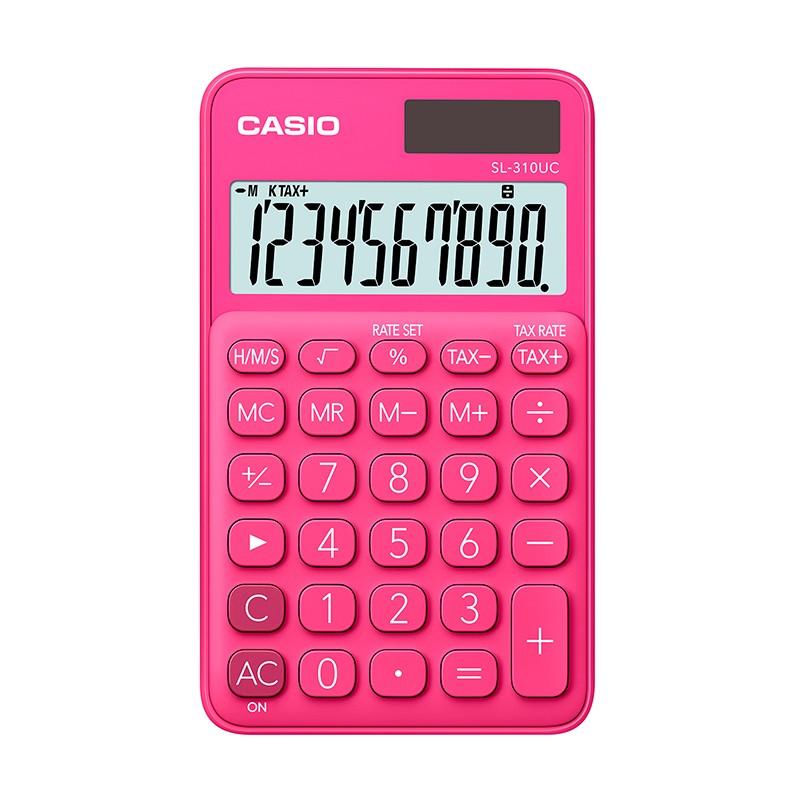 Kalkulaator CASIO SL-310UC, fuksia