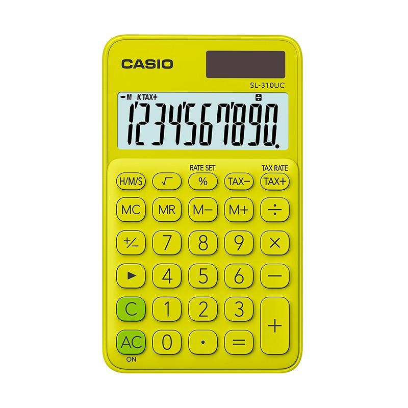 Kalkulaator CASIO SL-310UC, heleroheline