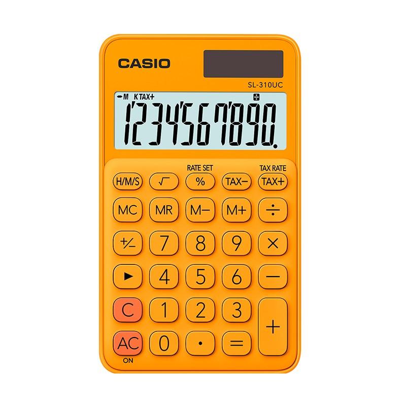 Kalkulaator CASIO SL-310UC, oranž