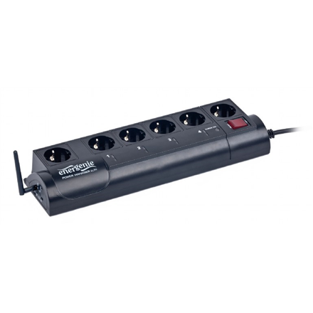 EnerGenie EnerGenie Programmable surge protector with LAN interface, Swiss sockets