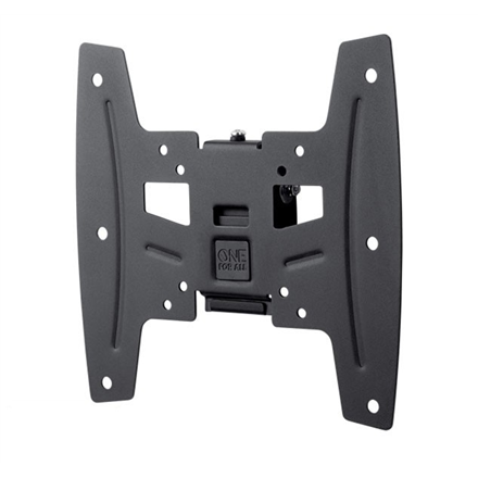 "ONE For ALL Wall mount, WM 4221, 19-42 "", Tilt, Maximum weight (capacity) 50 kg, VESA 75x75, 100x100, 200x100, 200x200 mm, Black"