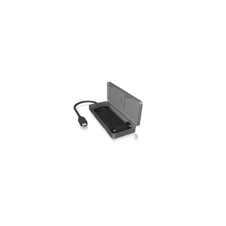 ICY BOX IB-185M2 Ext.-Case, 1xM.2 SATA SSD to USB 3.1 Gen.2 Type-C Host