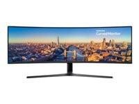 """Samsung CJ890 C49J890DKU 124,2 cm (48.9"""") 3840 x 1080 pikslit LED Must"""