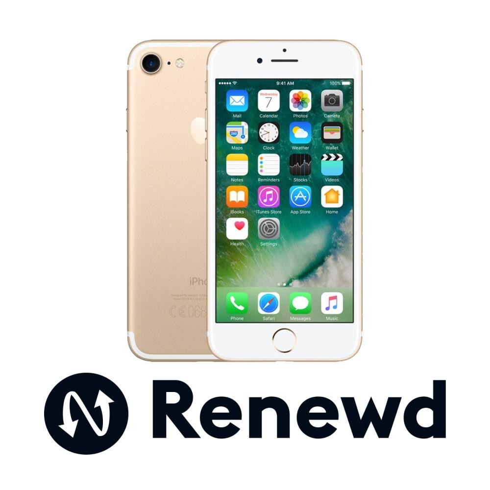 MOBILE PHONE IPHONE 7 32GB/GOLD RND-P70332 APPLE RENEWD
