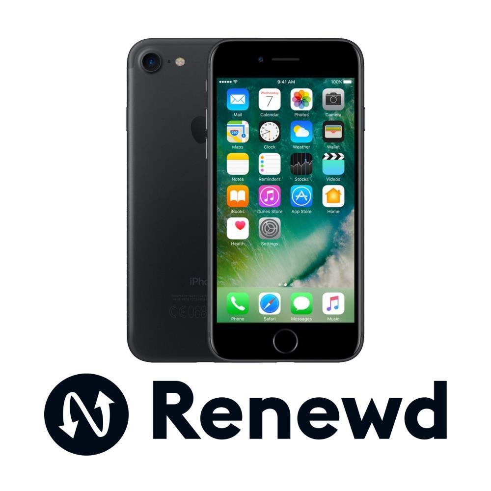 MOBILE PHONE IPHONE 7 32GB/BLACK RND-P70132 APPLE RENEWD