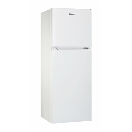 Candy Refrigerator CMDS 5122W Free standing, Double door, Height 122.5 cm, A+, Fridge net capacity 98 L, Freezer net capacity 40 L, 43 dB, White