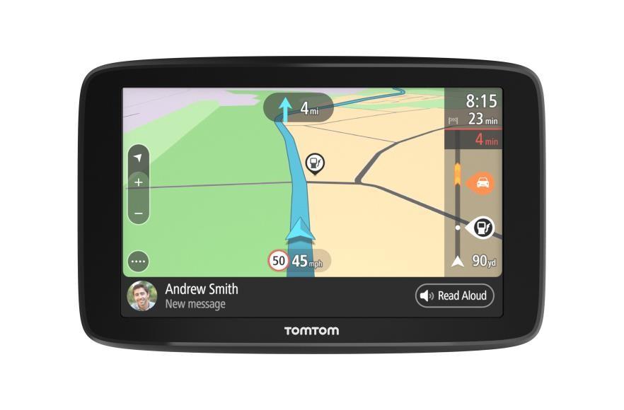 """TomTom GO Basic navigaator 12,7 cm (5"""") Puutetundlik ekraan Fikseeritud Must 201 g"""