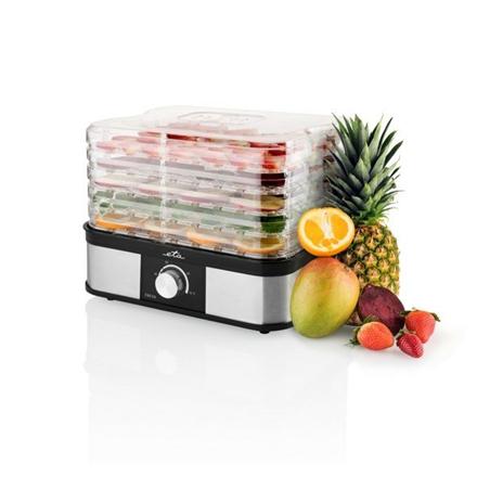 ETA Fresa Food dryer ETA530190000 Black/ stainless steel, 245 W, Number of trays 5, Temperature control,