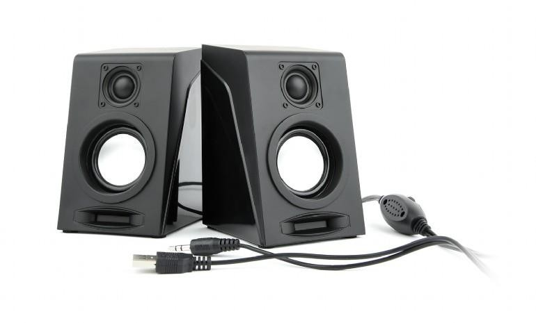 Speaker|GEMBIRD|Breeze|Black|SPK-DU-03