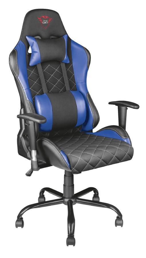 Trust GXT 707B Lauaarvuti mänguri tool Polsterdatud iste Must, Sinine