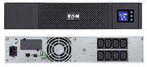 Eaton 5SC 1500I RACK2U Liini-interaktiivne 1500 VA 1050 W 8 vahelduvvoolu kontakt