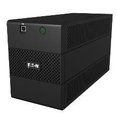 Eaton 5E650I puhvertoiteallikas (UPS) Liini-interaktiivne 650 VA 360 W 4 vahelduvvoolu kontakt