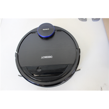 SALE OUT.  Ecovacs Vacuum cleaner DEEBOT OZMO 930 Wet&Dry, Operating time (max) 110 min, Lithium Ion, 3200 mAh, Dust capacity 0.47 L, 65 dB, Black, Battery warranty 0 month(s), USED, DIRTY, SCRATCHED, MISSING CLEANING TOOL