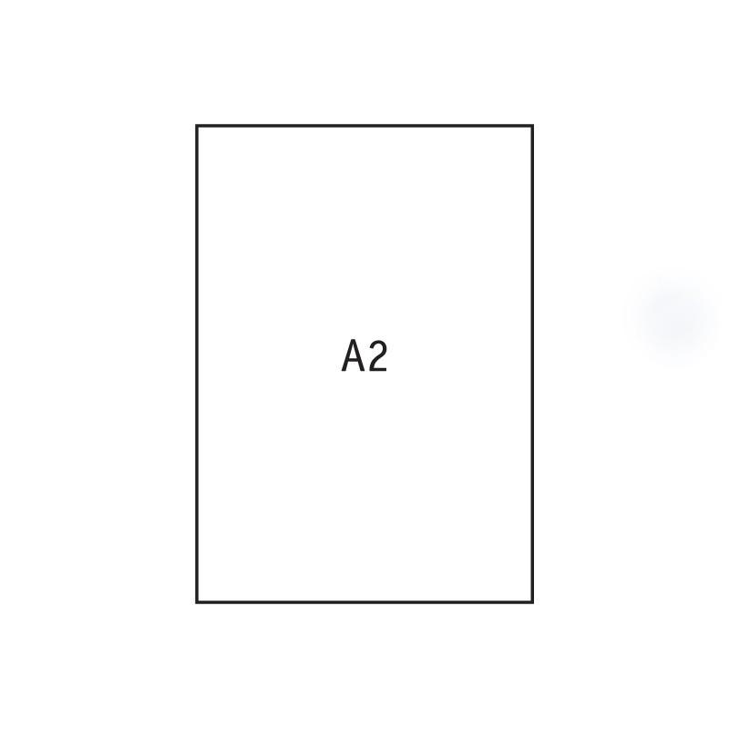Joonistuspaber, 610 x 430mm, 170g, 20 lehte