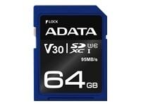 ADATA 64GB SDXC UHS-I U3 V30S 95MB/60MB